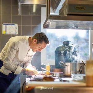 Photographie de cuisinier et reportage cuisine Studio END NAUCELLE