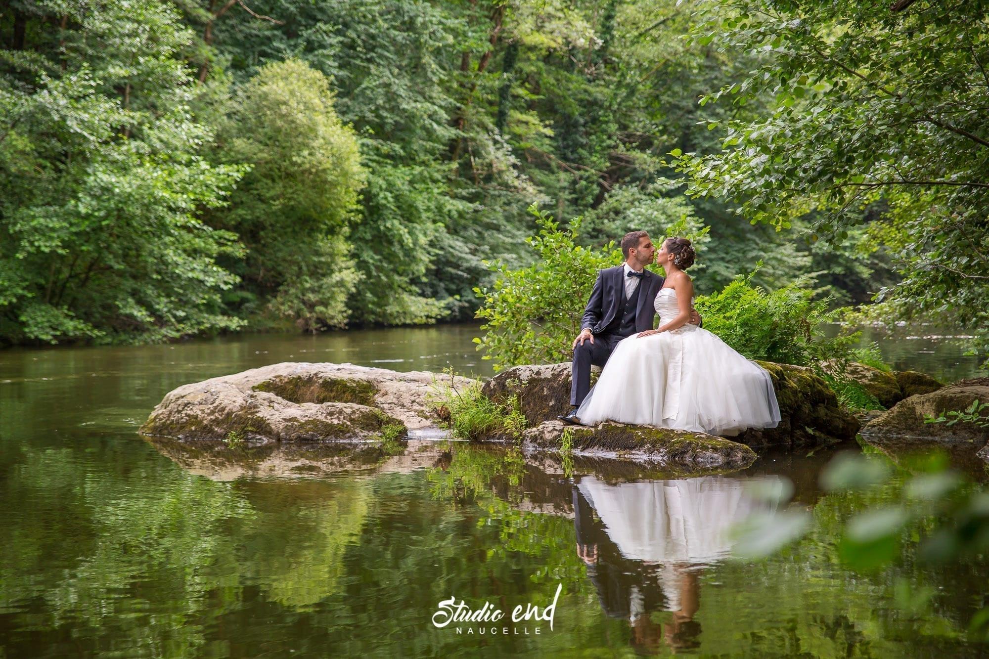Photos de couple et reportage de mariage, photographe de mariage en Aveyron, STUDIO END®