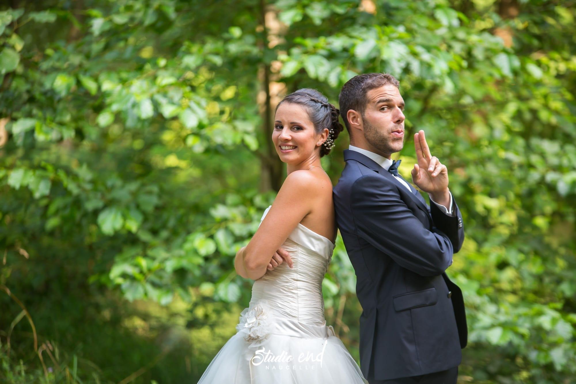 Photo de mariage en Aveyron Photo des mariés