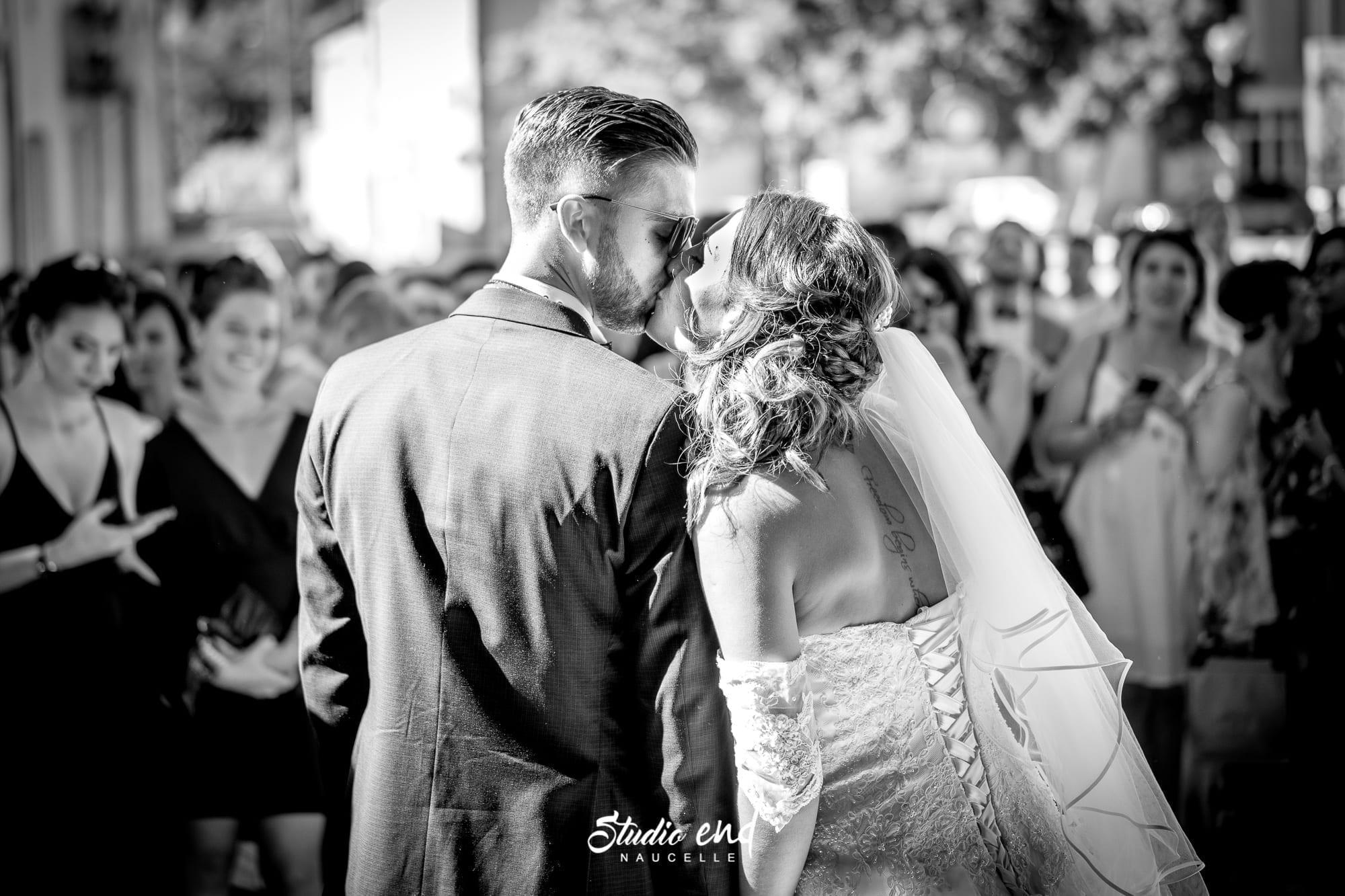Photo de mariage dans le Tarn Reportage mariage éqlise de Marssac sur Tarn