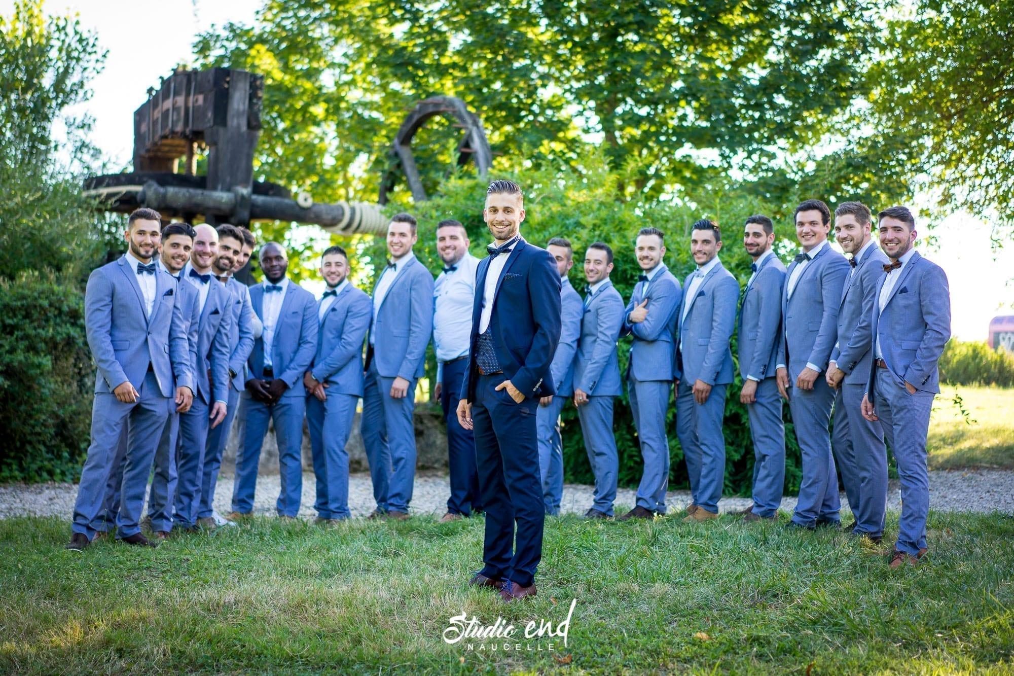 Photo de mariage Reportage mariage, vidéo Photo de groupe photographe Aveyron