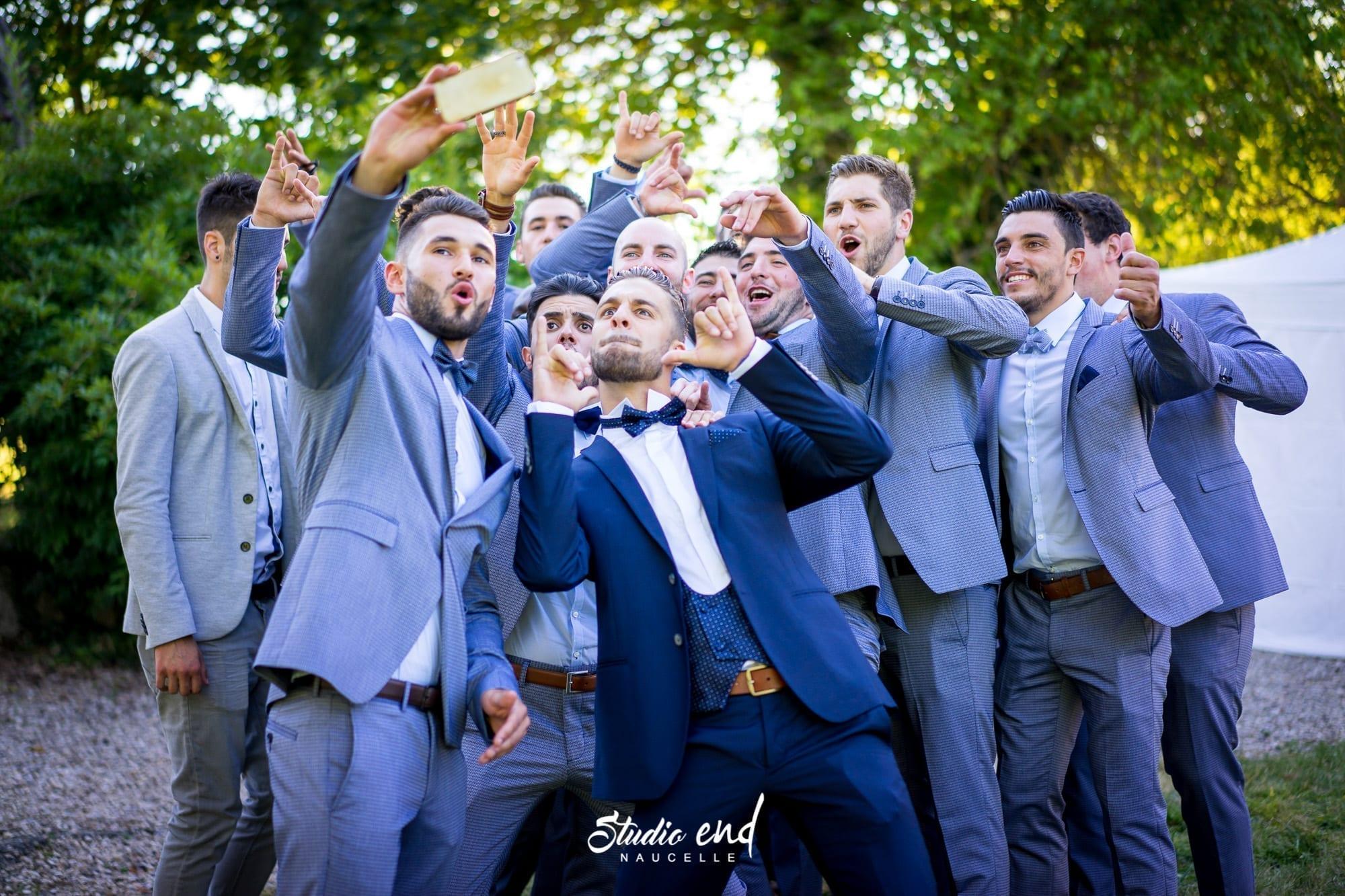 Photo de mariage Reportage Photo de groupe Studio End