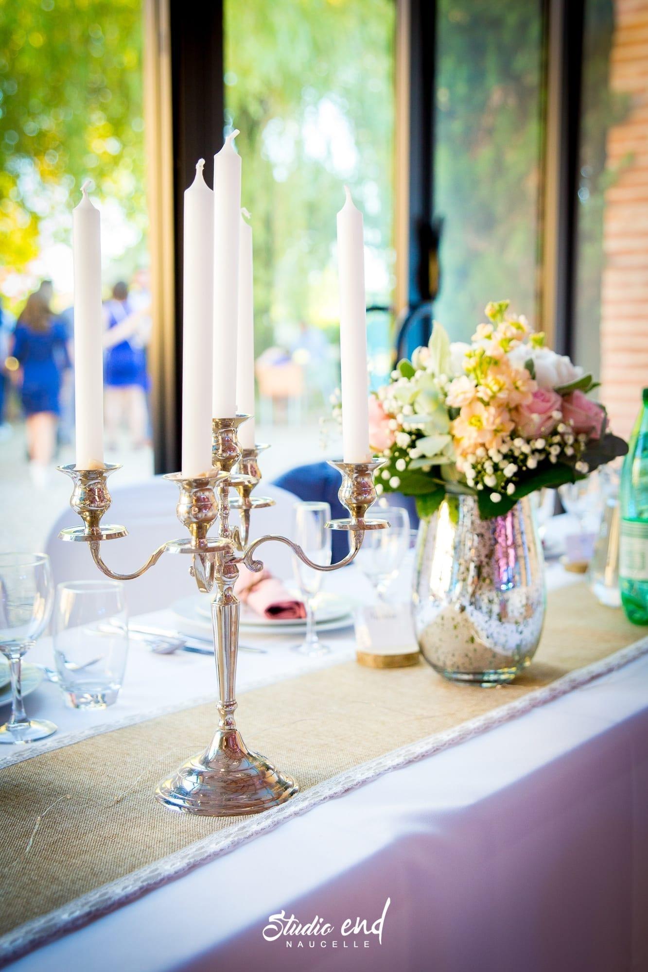 Photo de mariage Aveyron Reportage mariage décoration de table