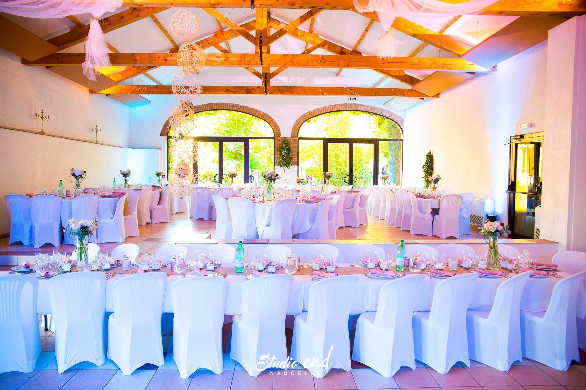 Photo de mariage Reportage mariage décoration de salle Studio End Aveyron
