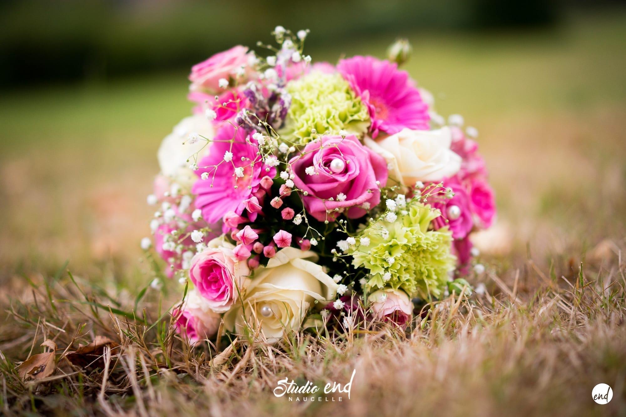 Bouquet de la mariée photographe reportage mariage Studio END