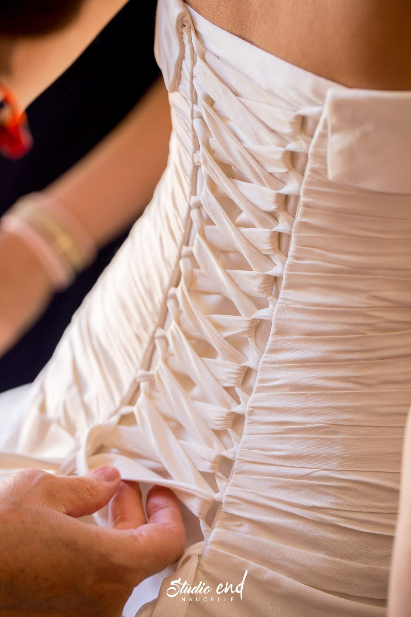 Photographie de mariage les préparatifs de madame Studio END Naucelle