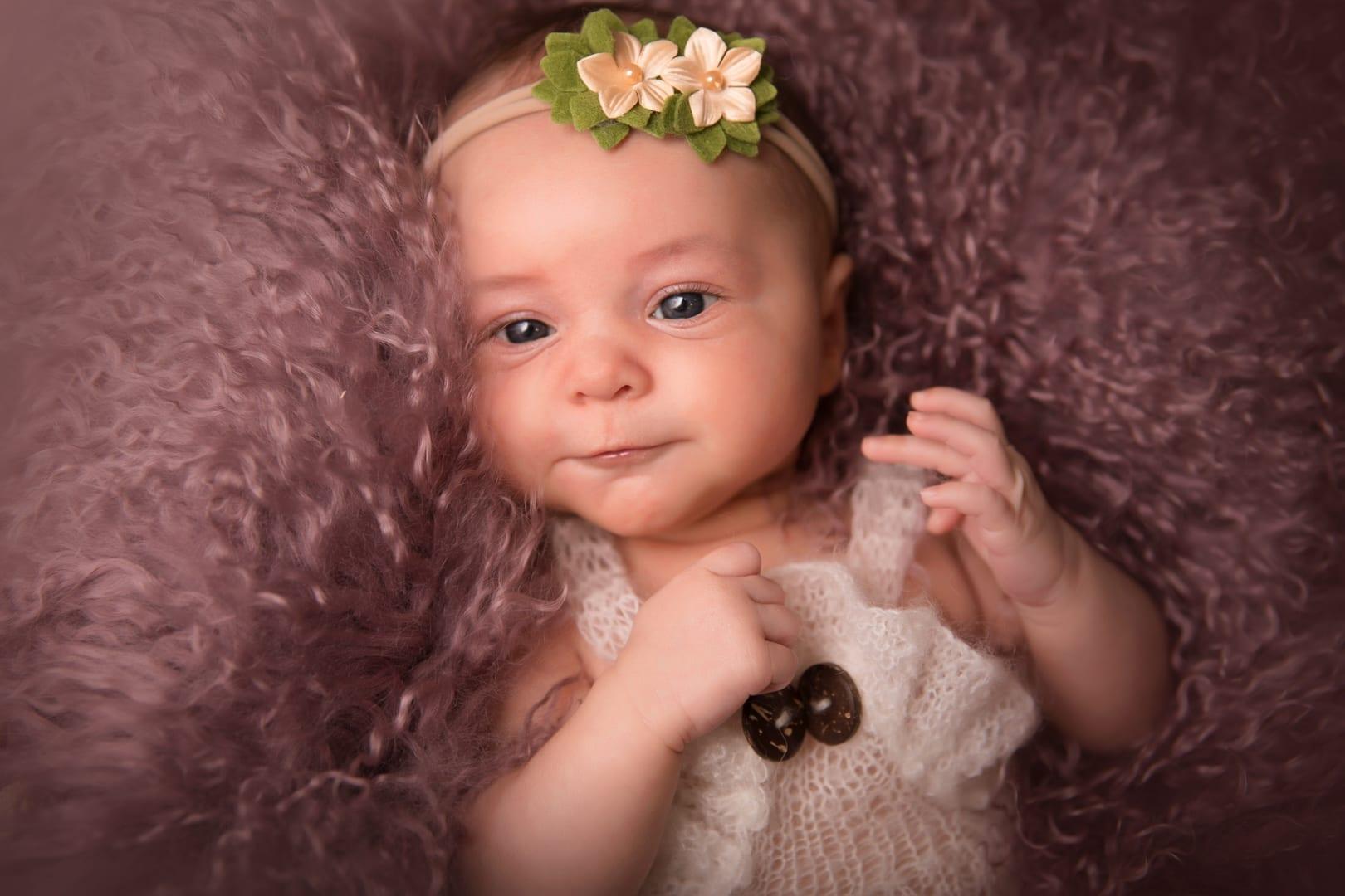 Photo de bébé réalisé par le Studio END à Naucelle près de Rodez
