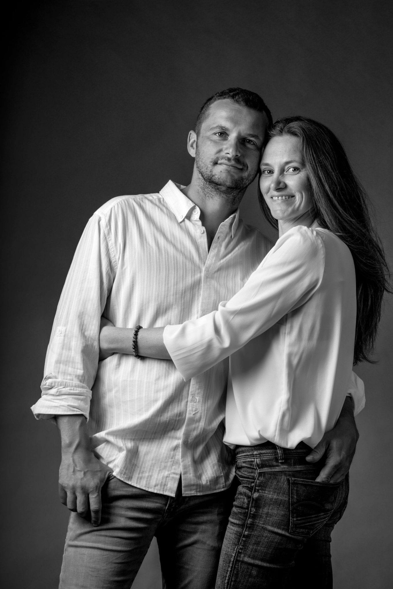 Photo de famille Portrait de couple Studio END Aveyron