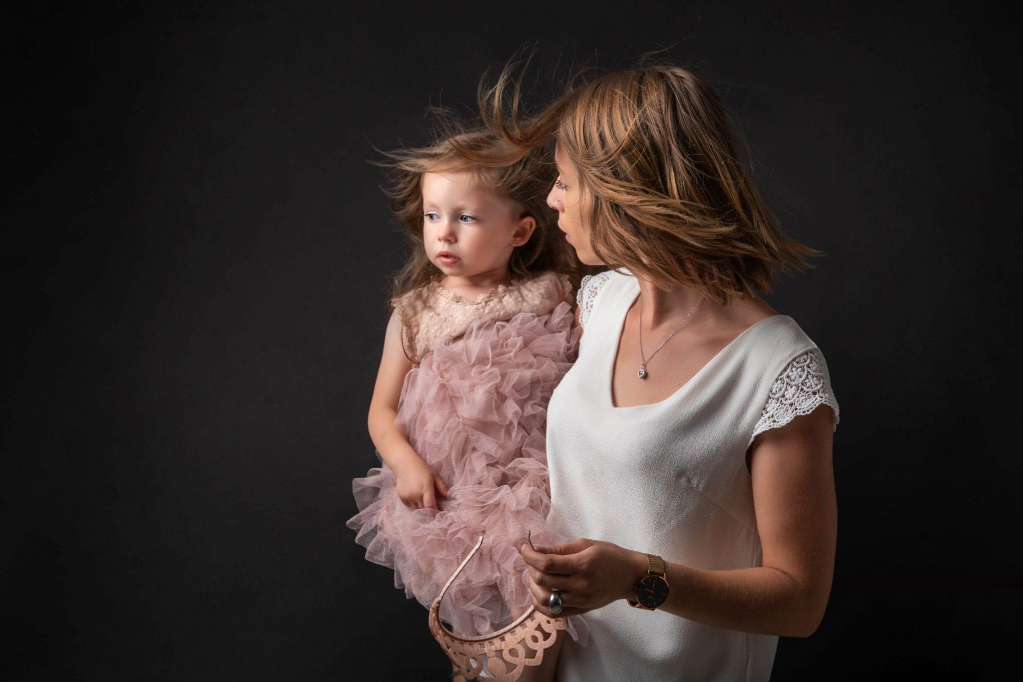 Photo de famille avec effet Studio END Aveyron