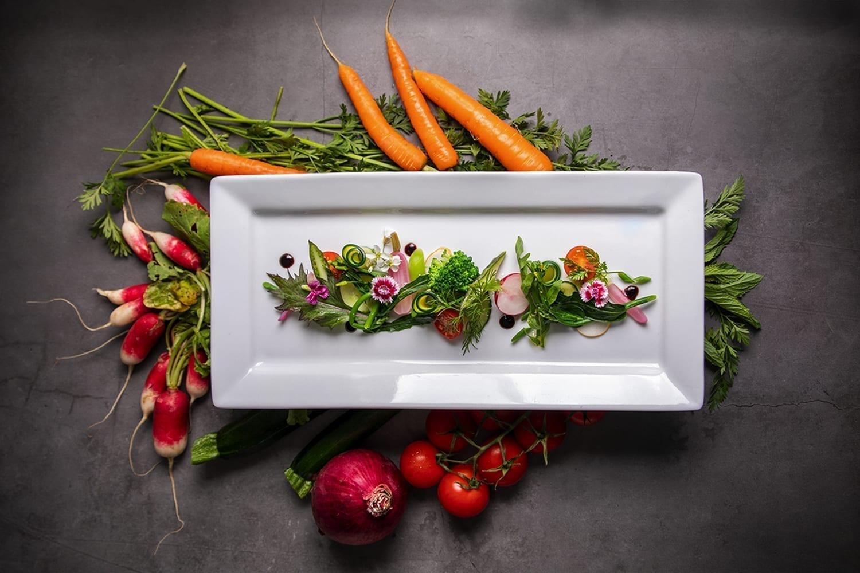 Photographie culinaire pour un traiteur photographe près de Rodez
