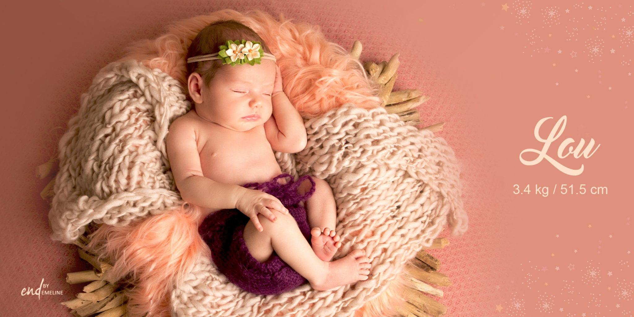 Photographe de bébé à Rodez - Lou By Studio END
