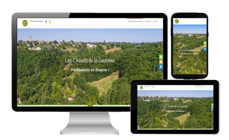 Site web pour les hôteliers, campings, chambres d'hôtes, gîtes....