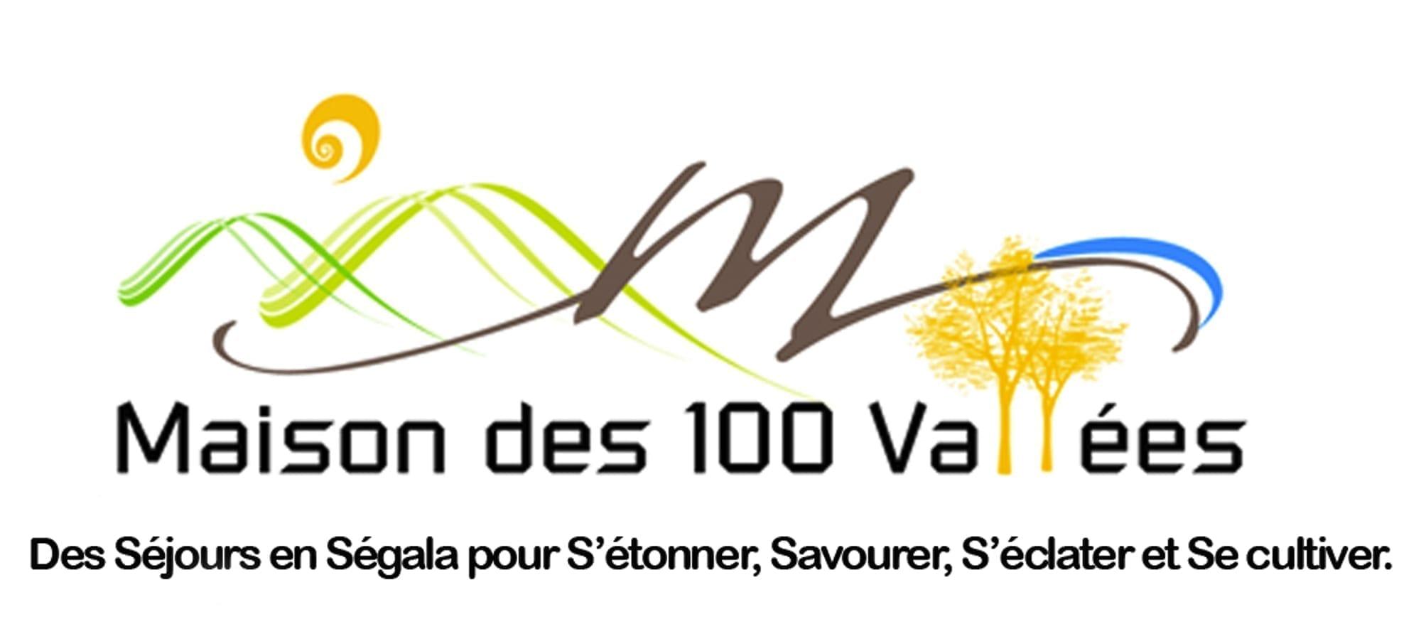 Création graphique pour Maison des 100 vallées
