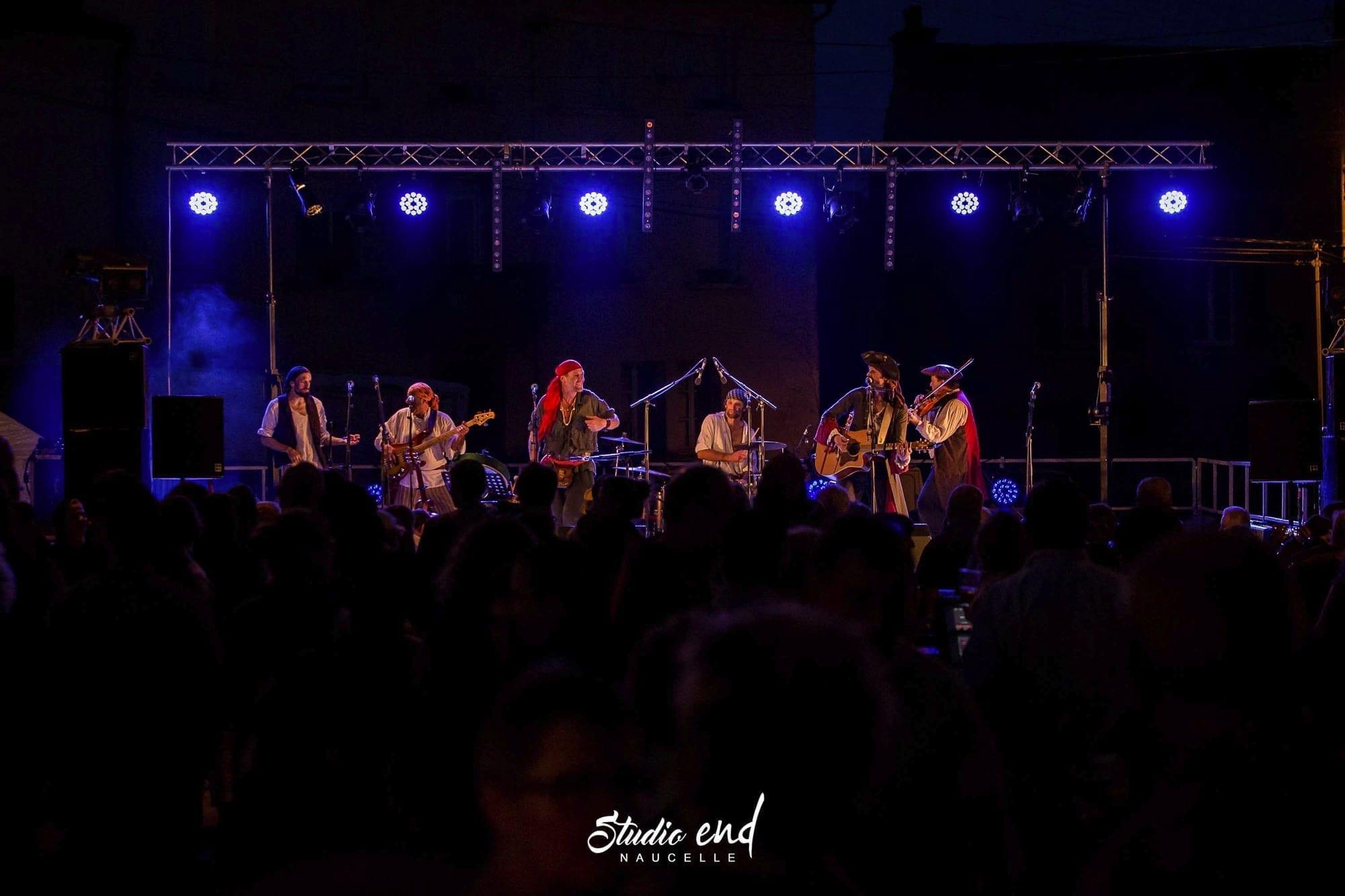 Vidéo et reportage Concert la Rue et à Moy à Moyrazes en Aveyron