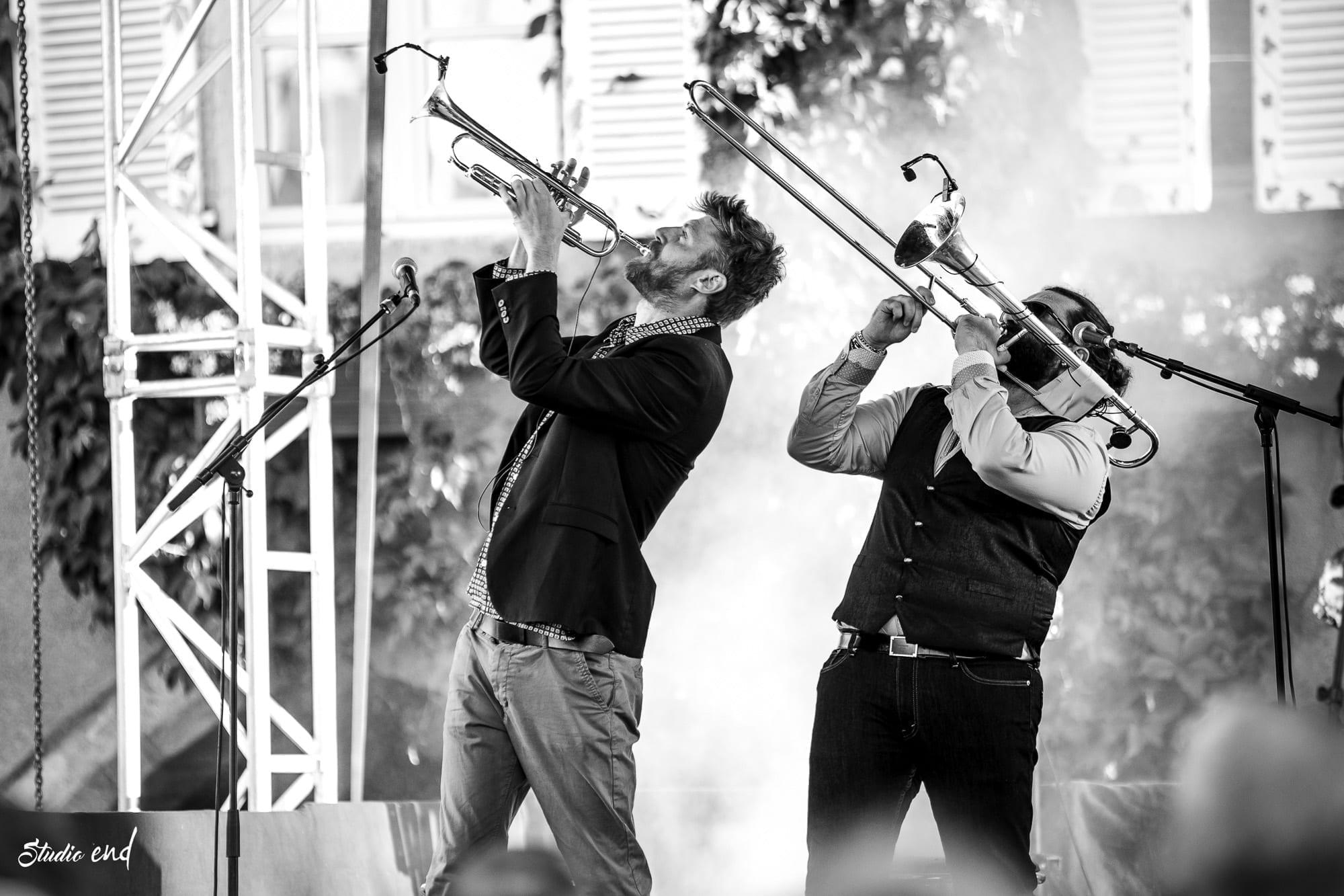 El Gato Négro cuivres photo de concert et évènement Rodez et Albi