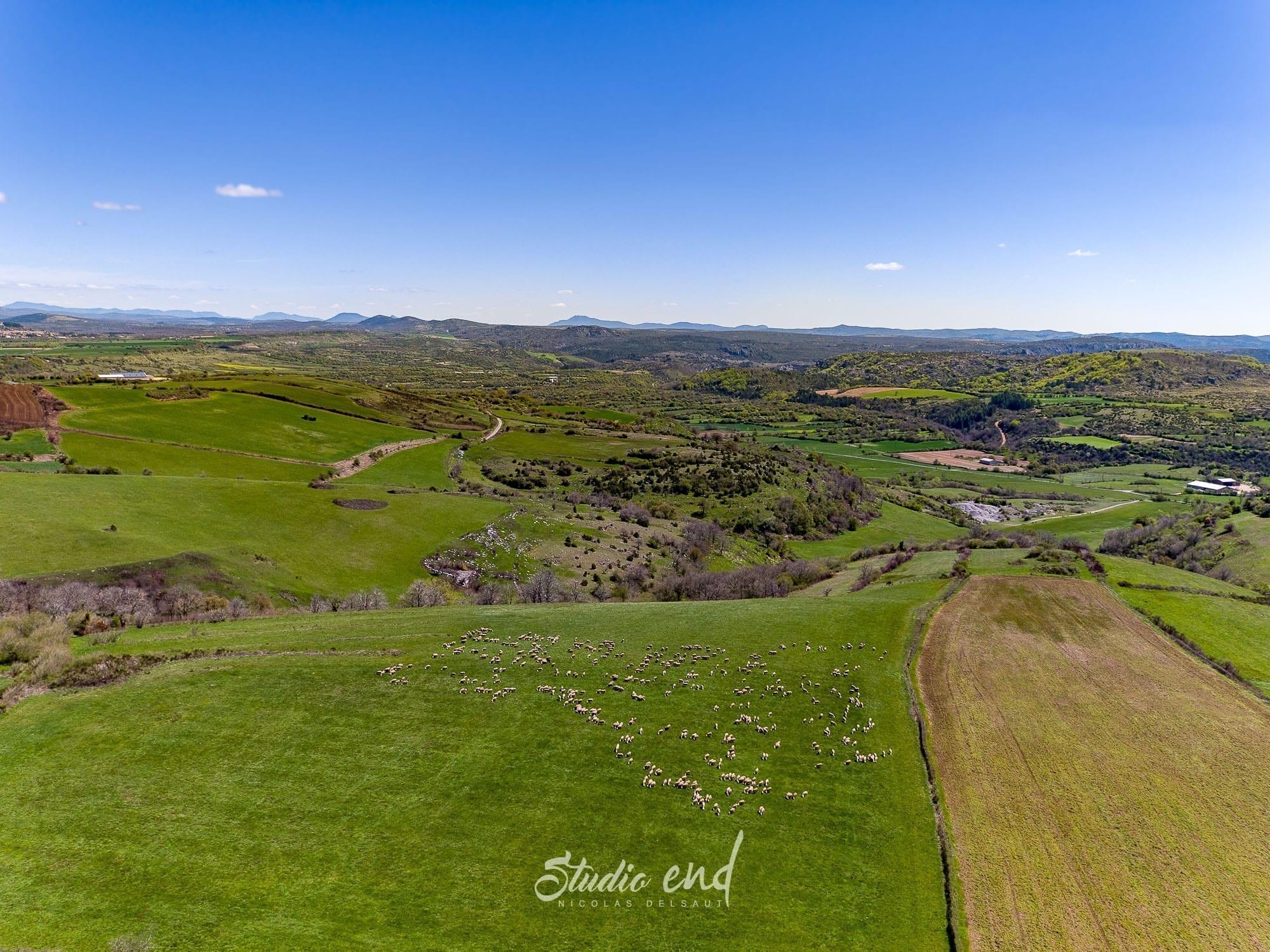 Photographe drone Studio End en Aveyron
