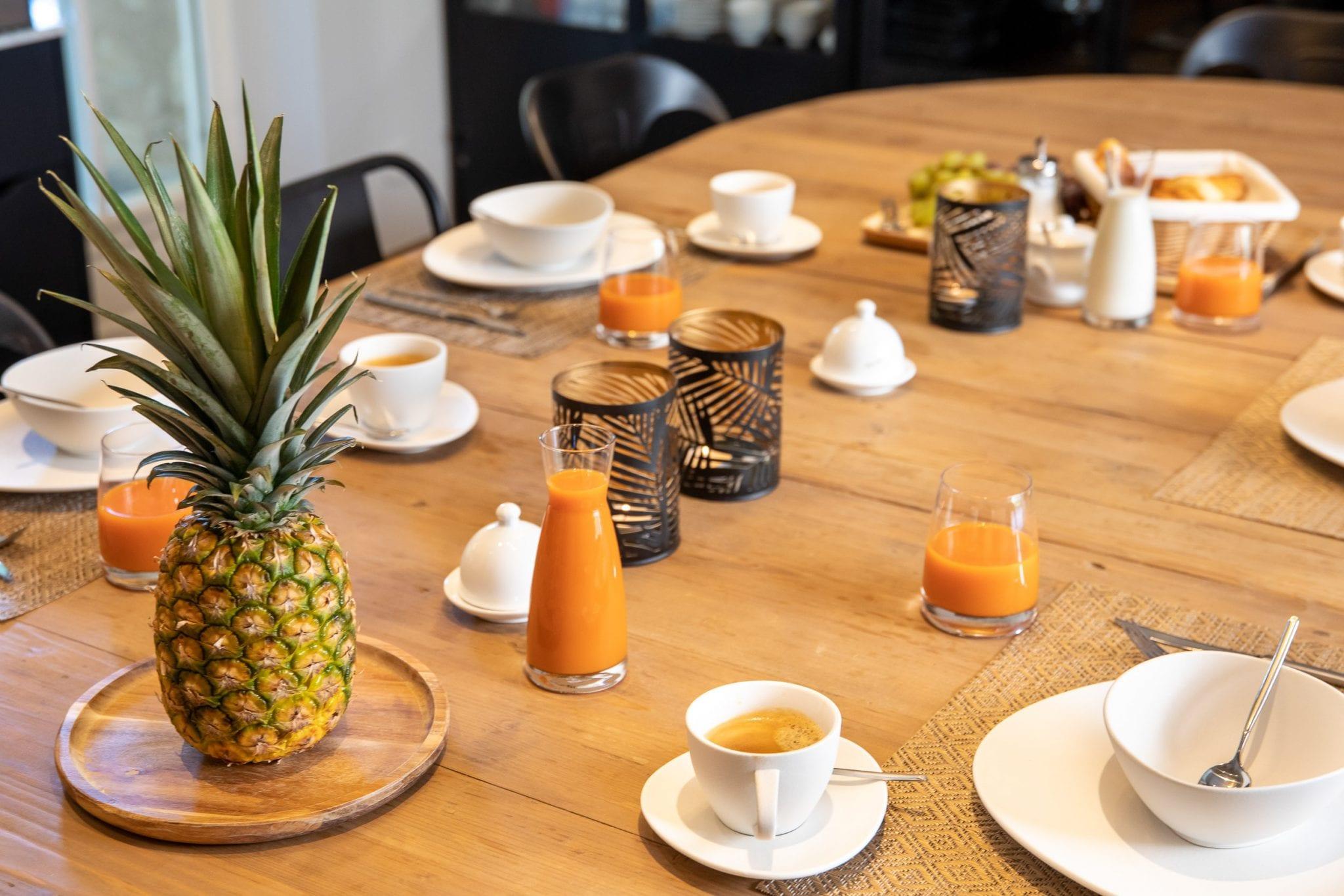 Petit déjeuner - Domaine de la Broutie - Villefranche de Rouergue, Studio END