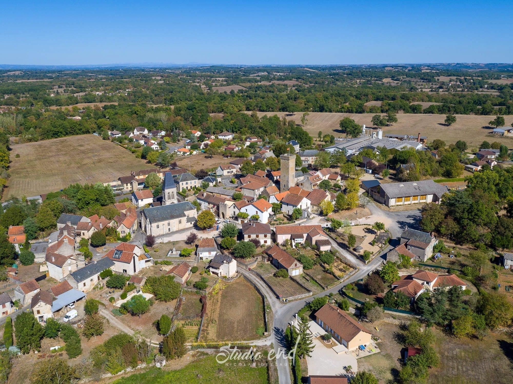 Photographie aérienne et drone dans le Tarn et l'Aveyron