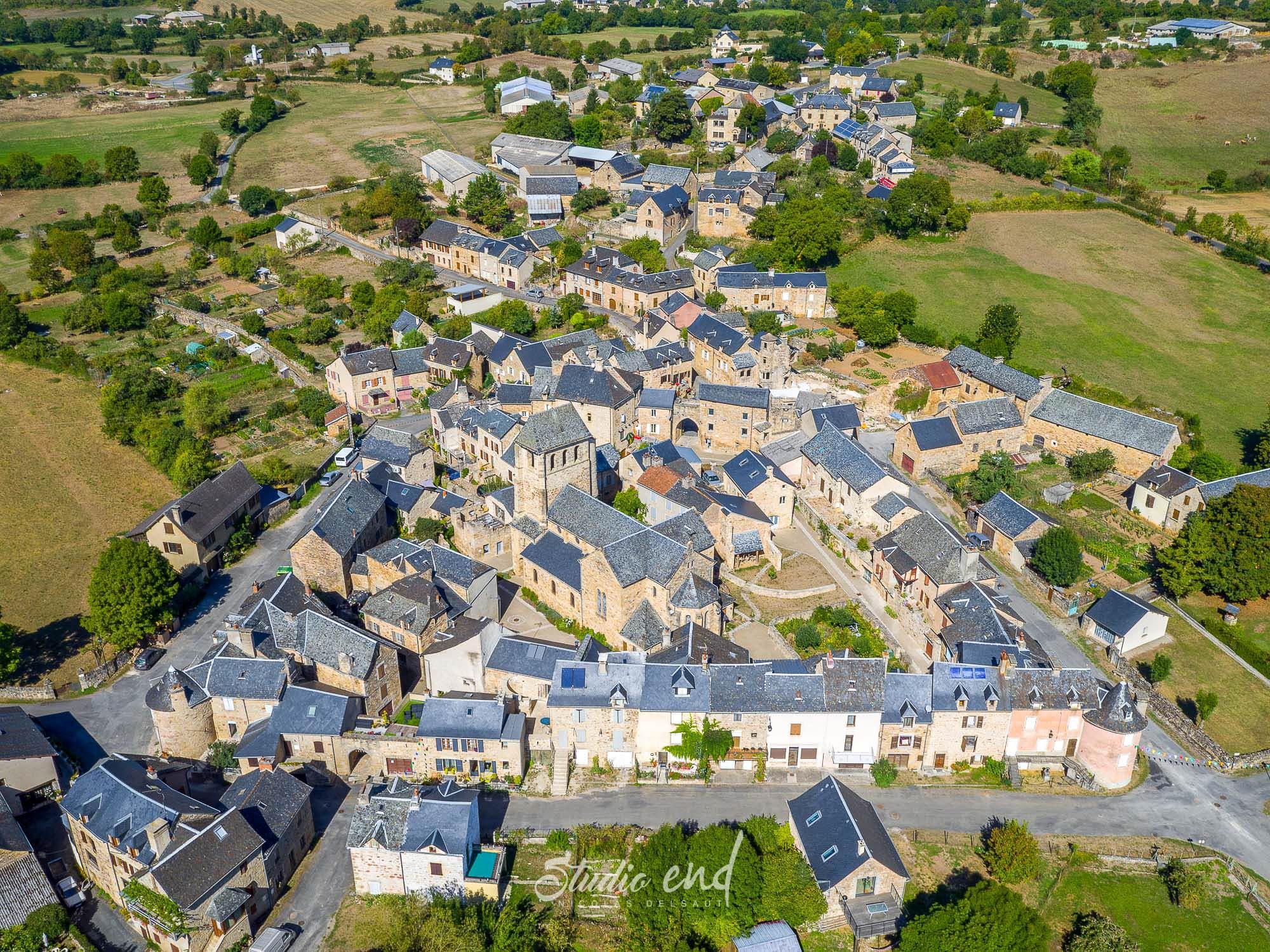 Photographie aérienne grâce à un drone Studio End