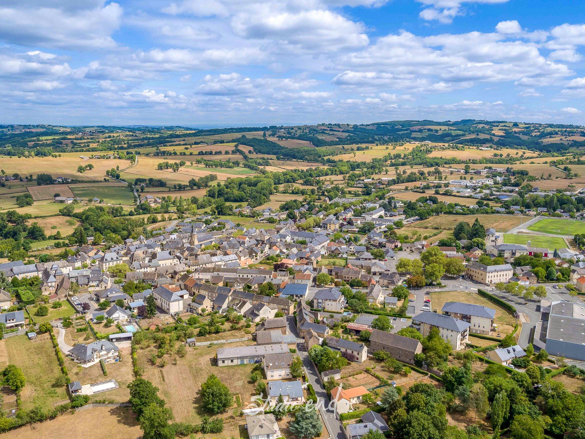 Photographie aérienne grace à un drone Rignac Studio End