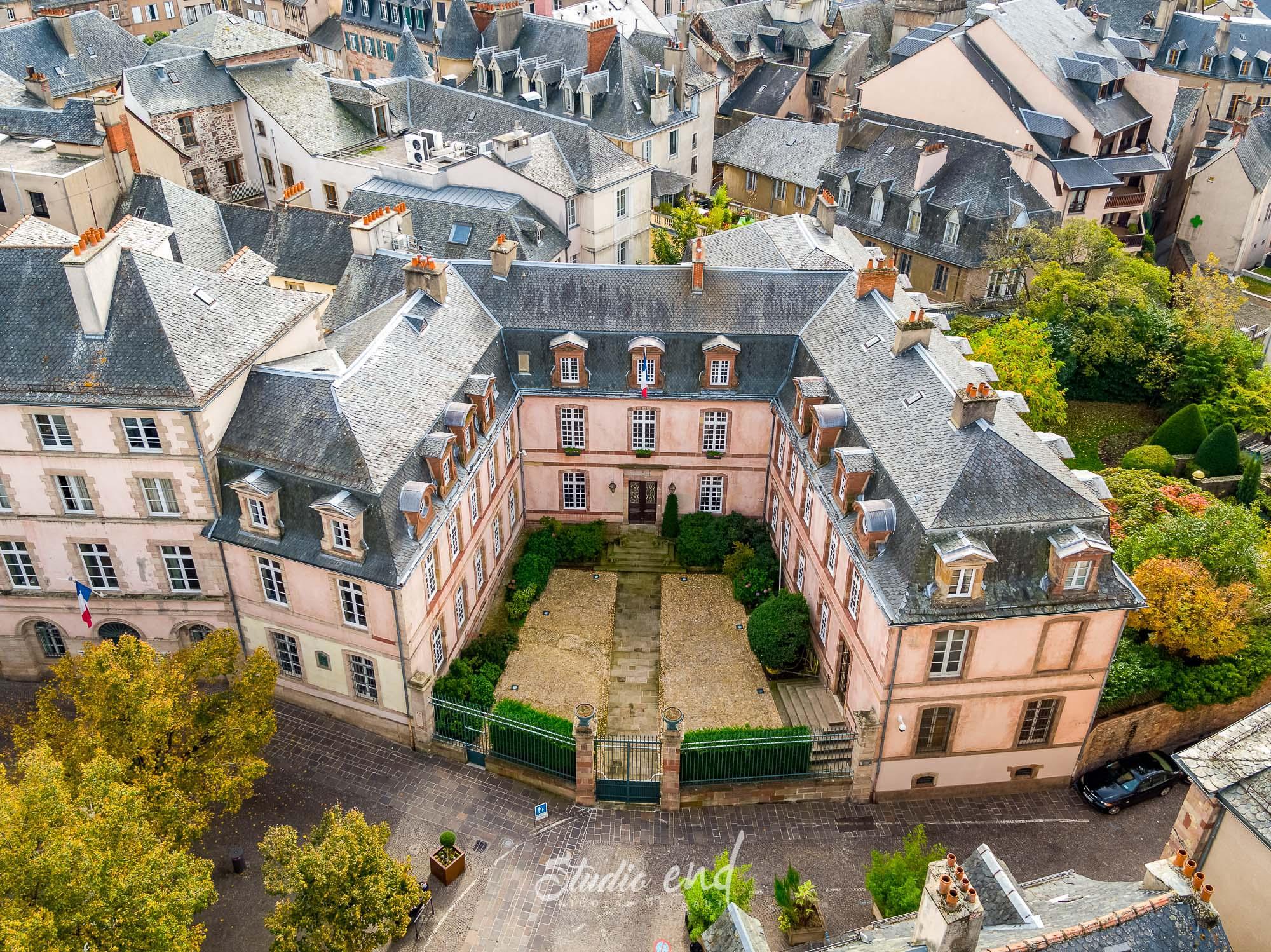 Photographie aérienne grace à un drone Rodez Studio End