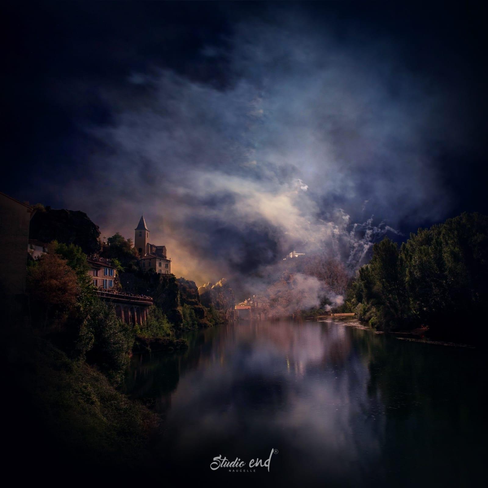 Photographie de paysage nocturne Studio End Naucelle Aveyron