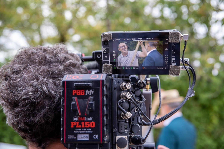 Vue de la caméra de l'émission La Gaule d'Antoine