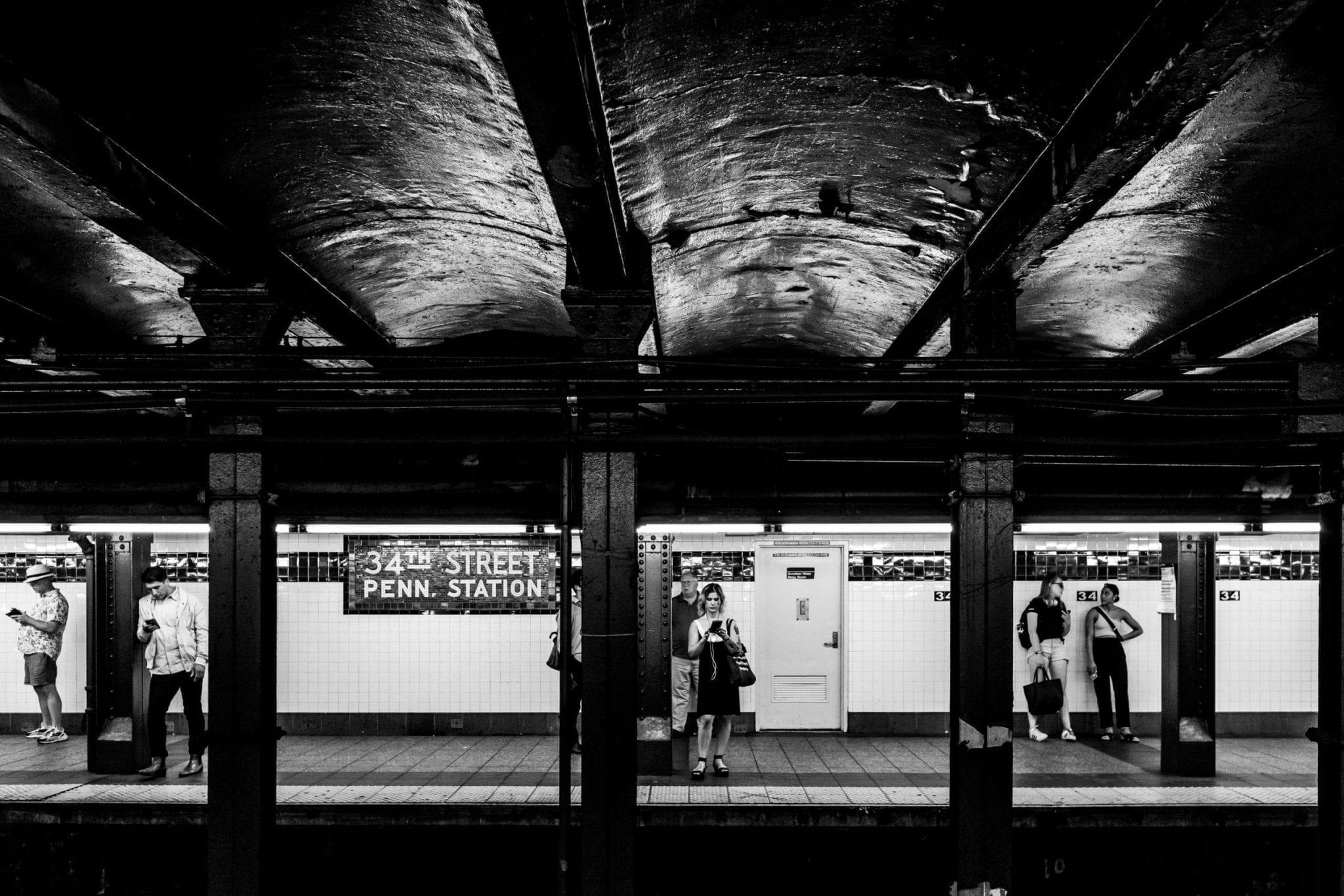 Métro New York, photo et reportage de voyage Studio End