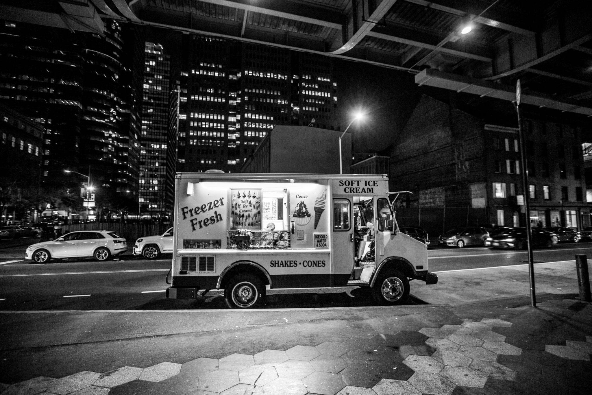 camion New York, photo et reportage de voyage Studio End