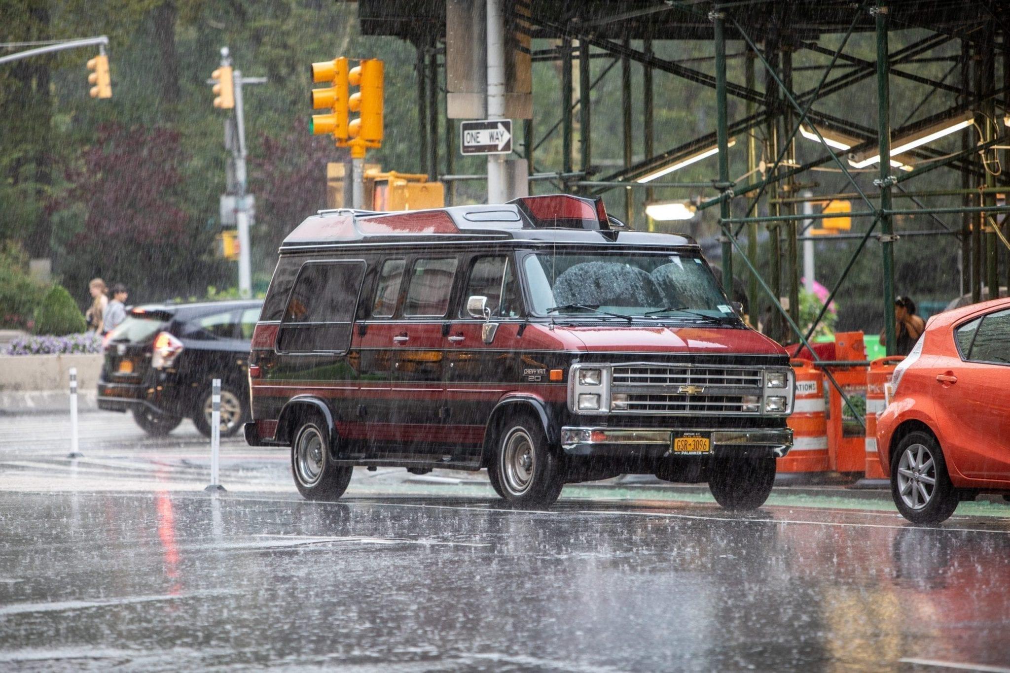 Sous la pluie New York, photo et reportage de voyage Studio End en Aveyron