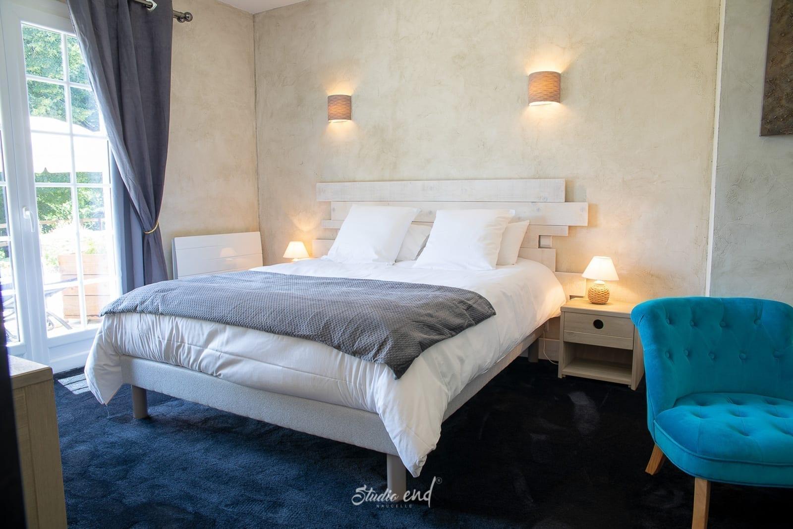 Photo de chambre et établissement hôtelier Studio End photographe Rodez