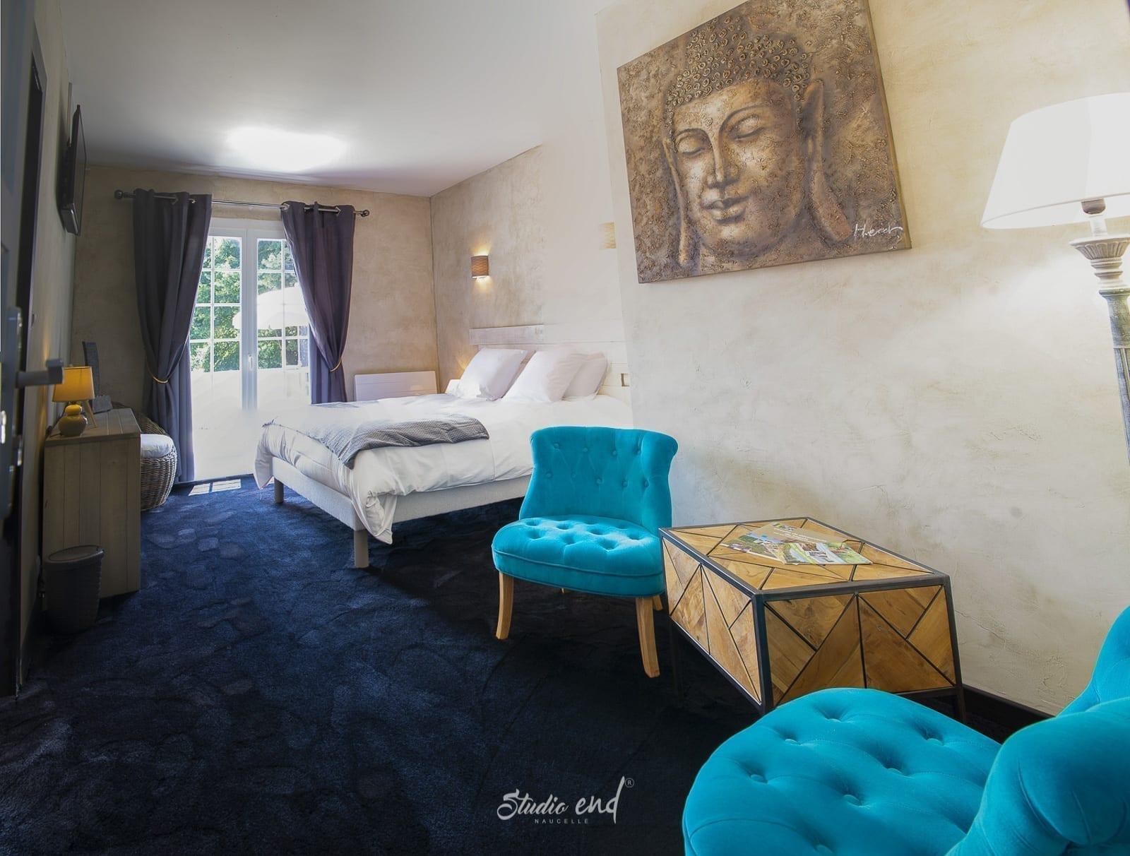 Photo de chambre et établissement hôtelier, chambre d'hote, gites Studio End photographe Tarn