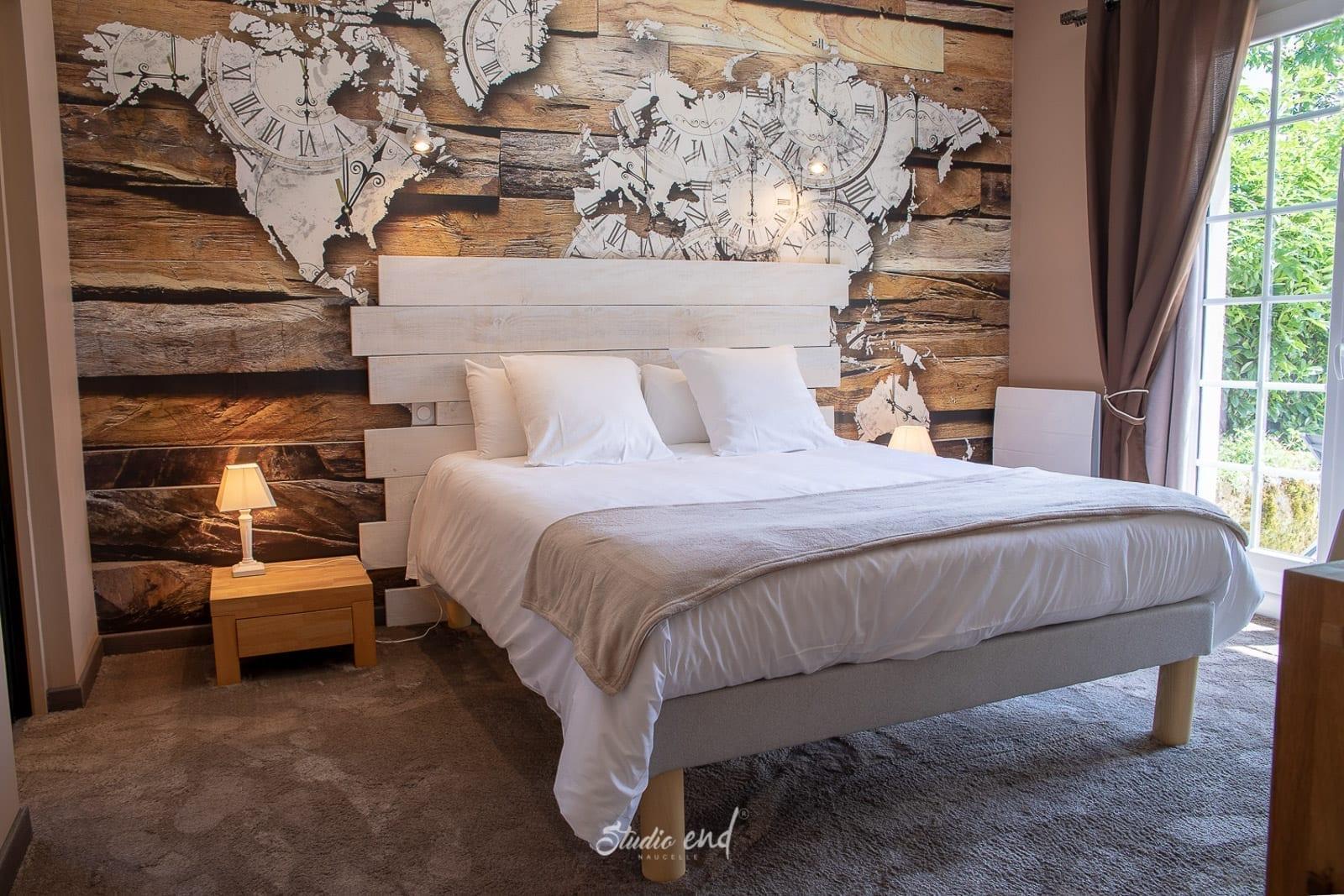 Photo de chambre et établissement hôtelier Studio End photographe Aveyron