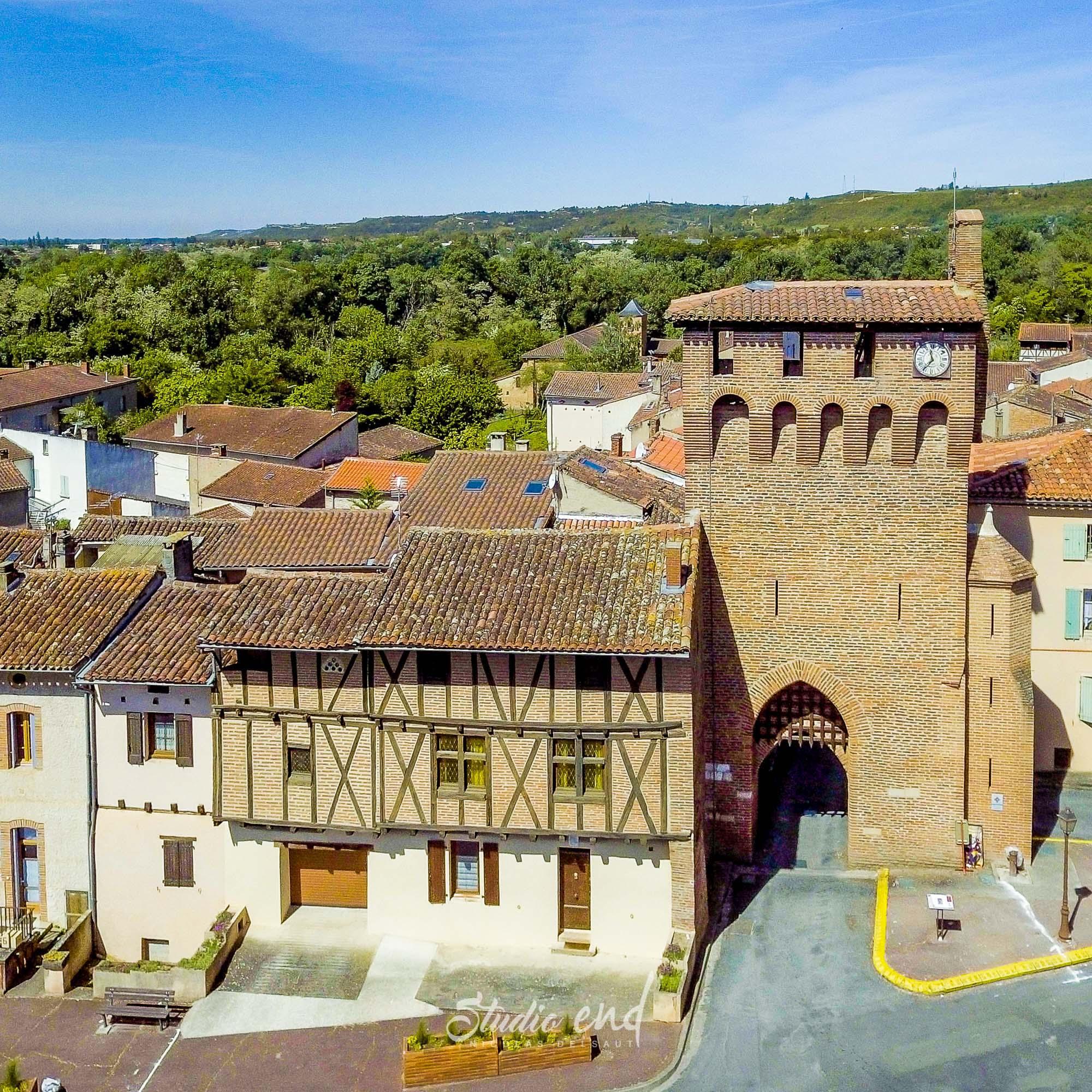Photographie aérienne avec un drone Lescure d'Albigeois