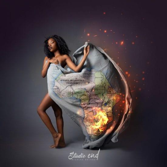 Projet artistique Afrikin, Emeline Delsaut, exposé aux Etats Unis Africa
