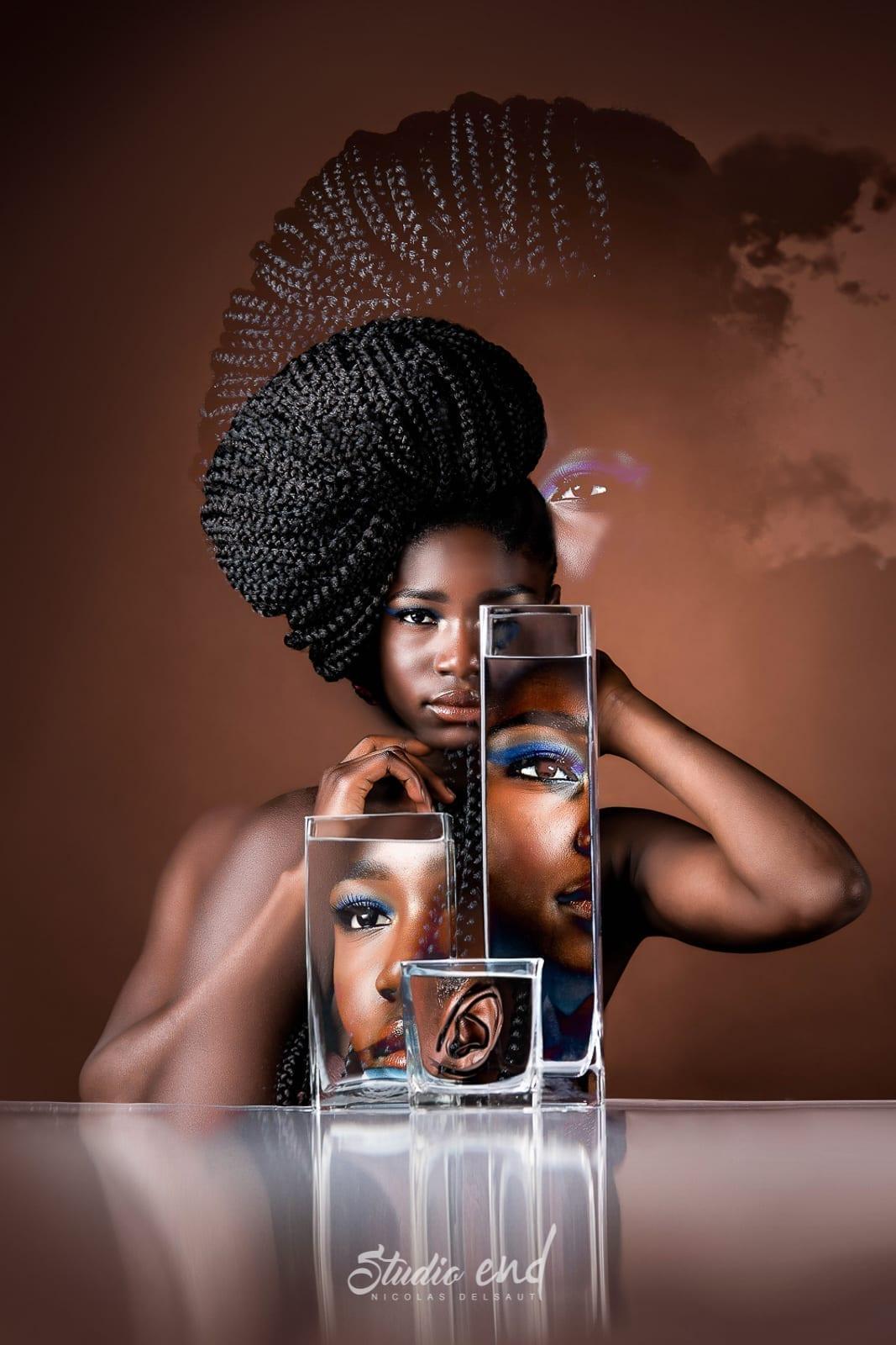 Projet artistique Afrikin, Emeline Delsaut, exposé aux Etats Unis become