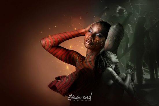 Projet artistique Afrikin Emeline Delsaut photographe Aveyron miami arts fair 2019 artbasel