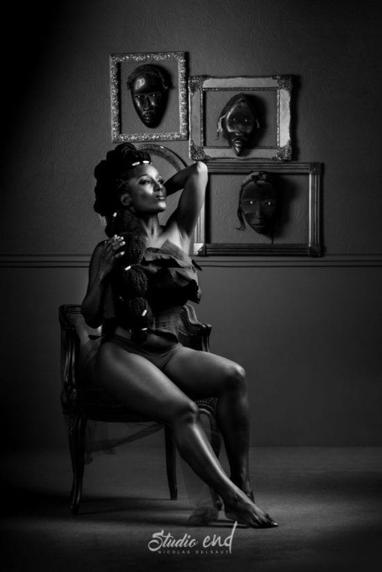 Projet artistique Afrikin, Emeline Delsaut, exposé aux Etats Unis night at museum