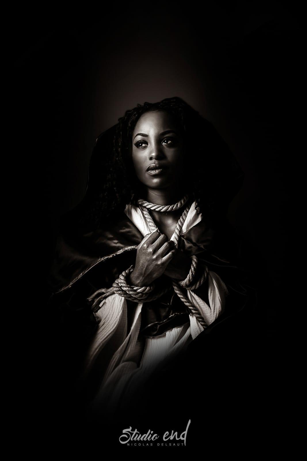 Projet artistique Afrikin, Emeline Delsaut, exposé aux Etats Unis Marianne