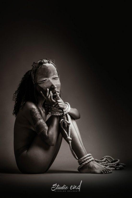 Projet artistique Afrikin, Emeline Delsaut, exposé aux Etats Unis silence