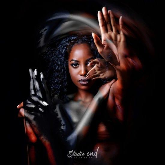Projet artistique Afrikin, Emeline Delsaut, exposé aux Etats Unis stop gun