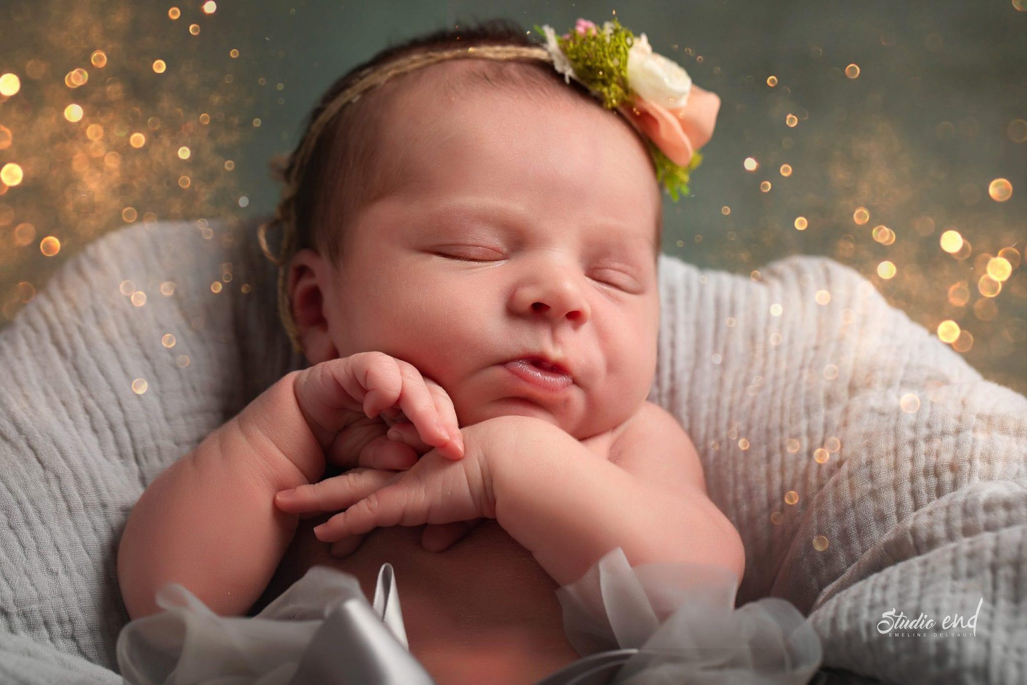 Photo de bébé, nourrisson, nouveau né mignonne