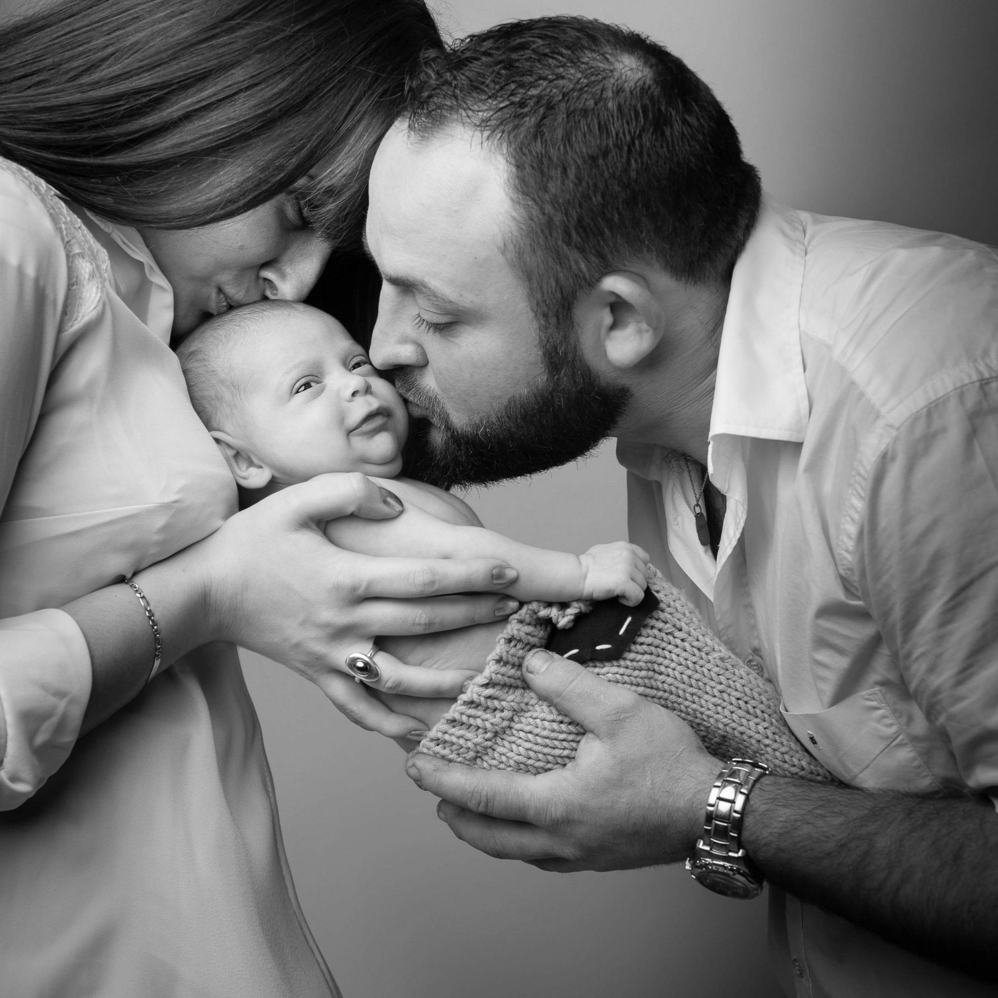 Photo de famille et bébé originale Studio End Naucelle