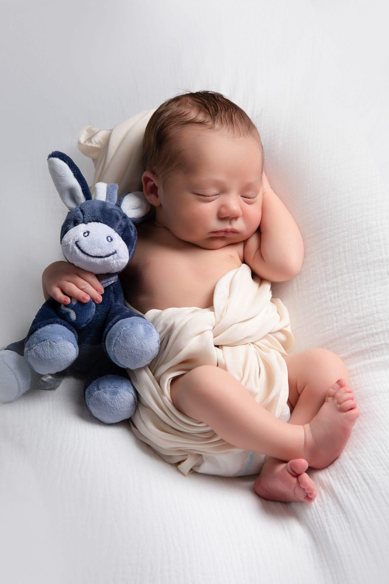 Photographe de bébé mignon à Rodez