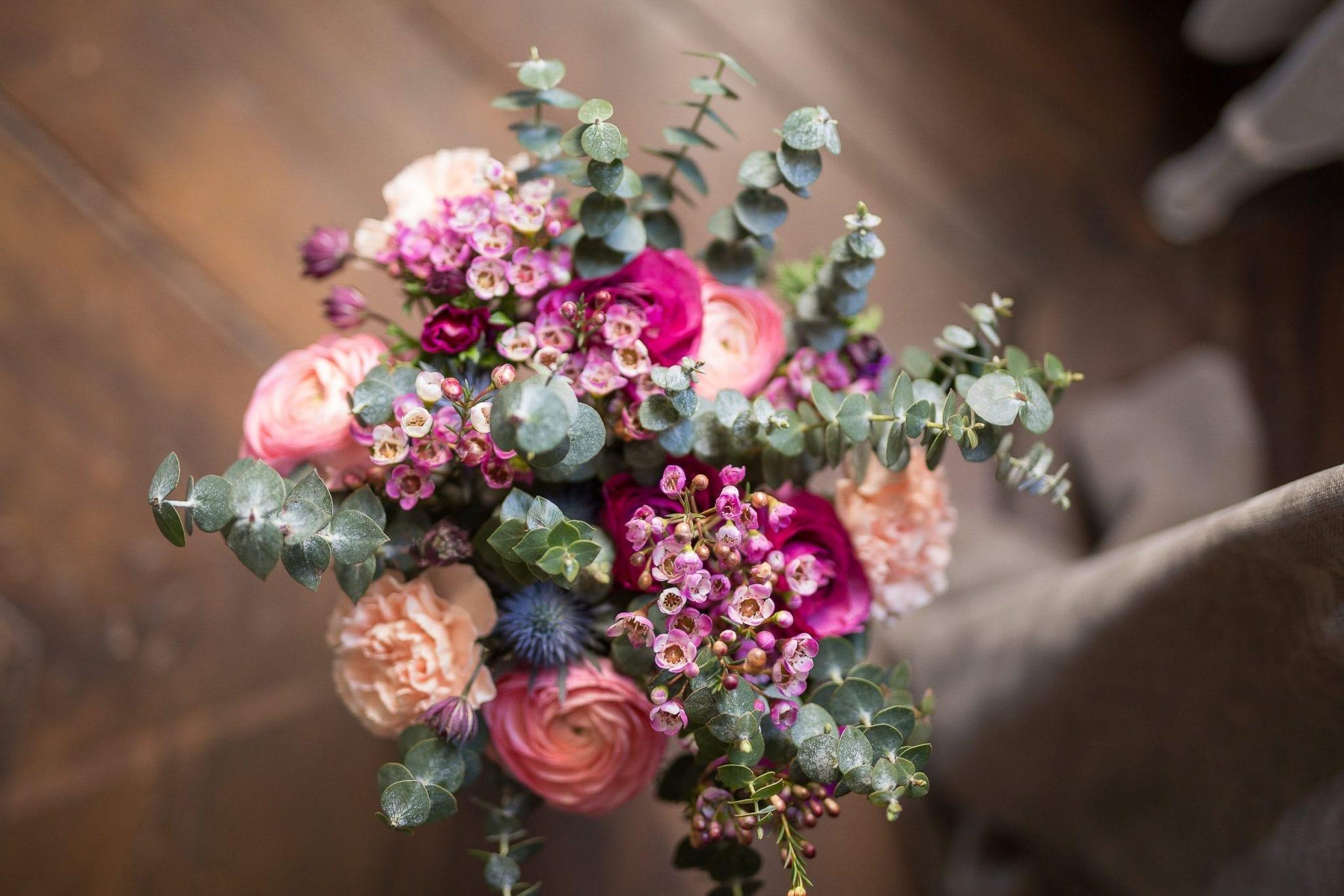 Bouquet de fleur mariage Studio End