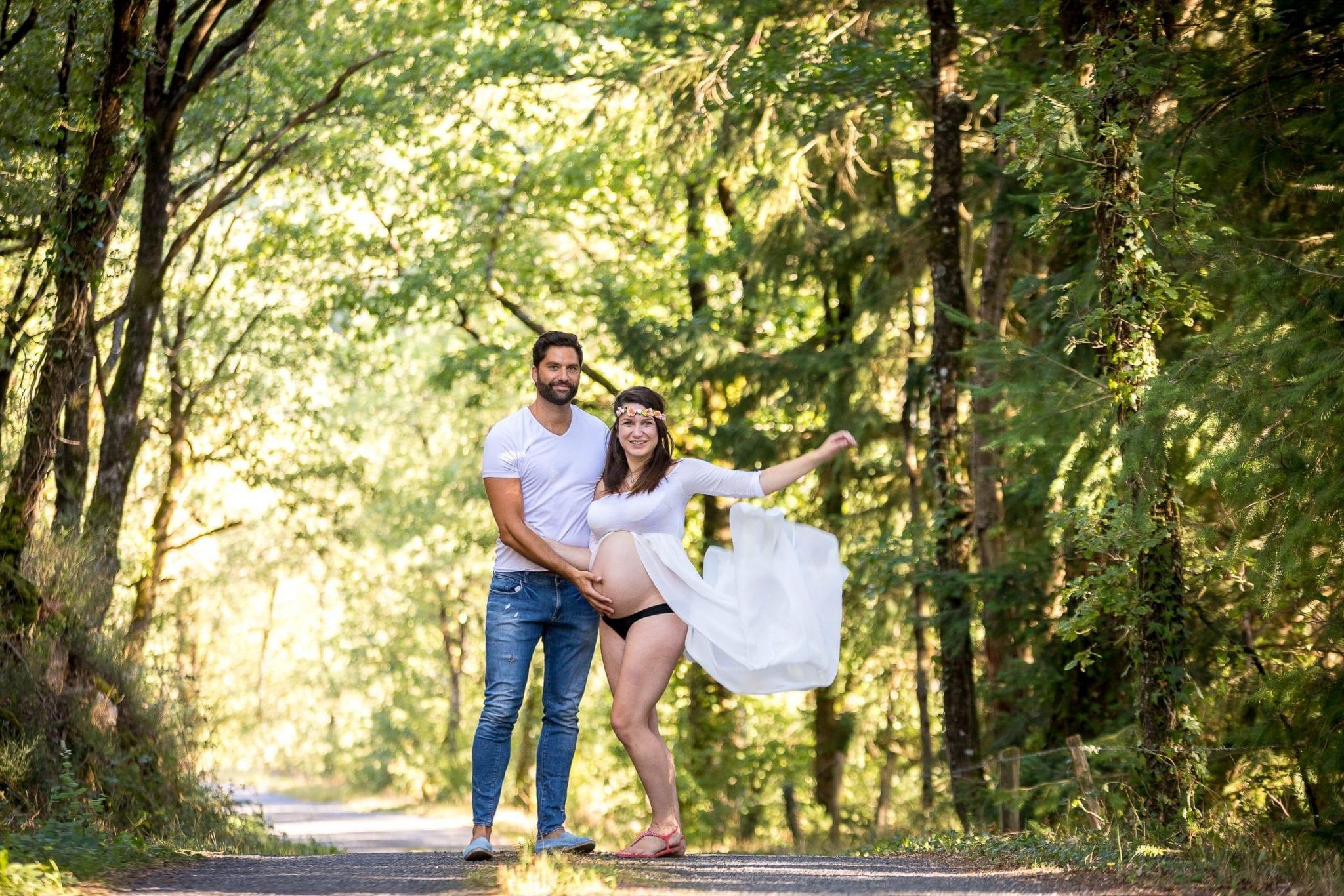 Femme enceinte, grossesse Studio END photographe Tarn