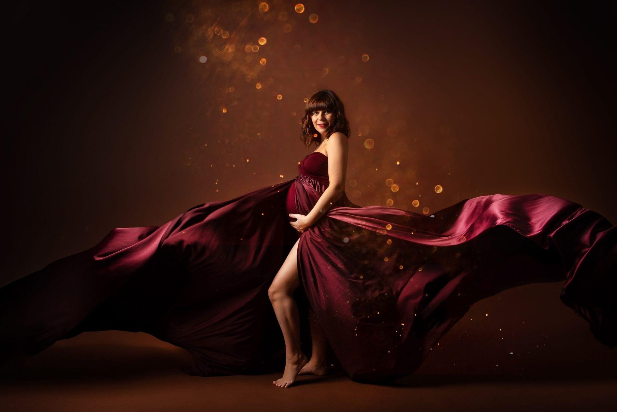 Photographe femme enceinte, grossesse super original Studio End