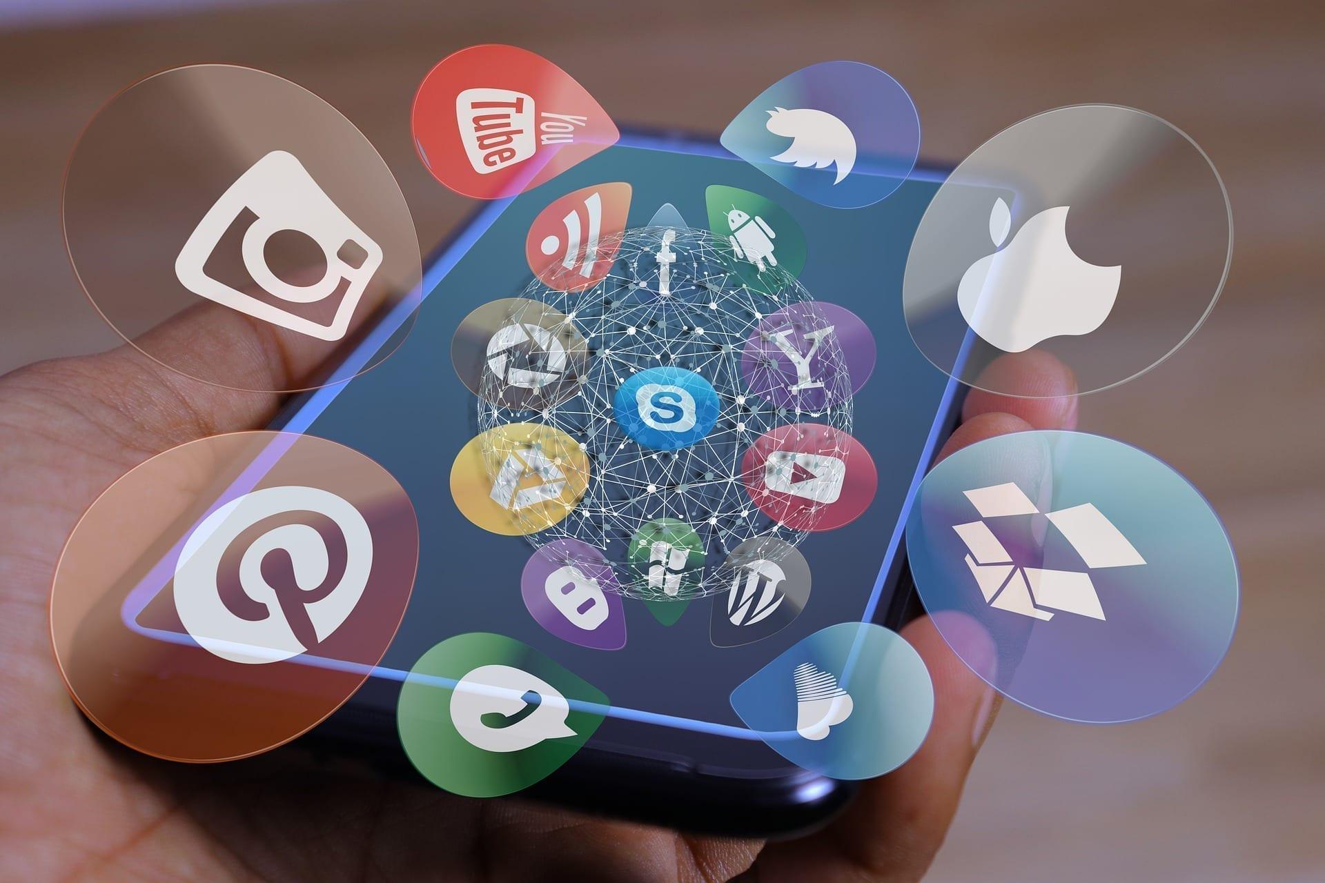 Votre site Web visible et partagé sur tous vos réseaux sociaux