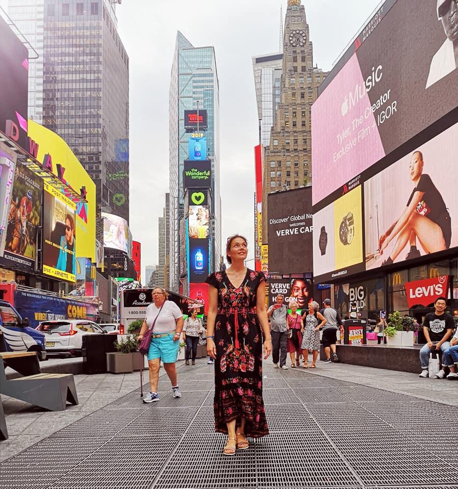 Emeline Delsaut photographe en Aveyron à New York pour l'artbasel 2019