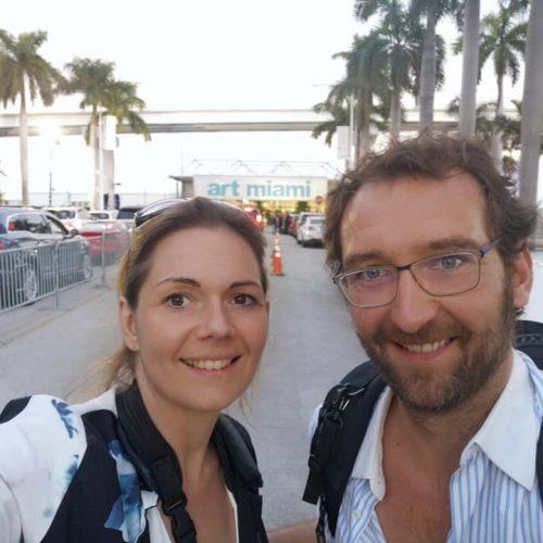 Emeline et Nicolas Delsaut photographe en Aveyron à Miami pour l'artbasel 2019